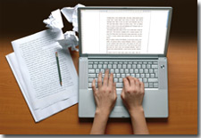 The writing process is made easier with a virtual author's assistant.